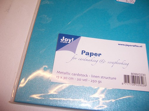 joy metallic paper