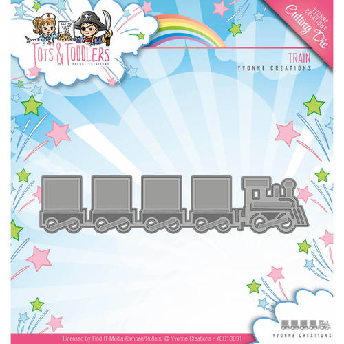 Die - Yvonne Creations - Tots and Toddlers - Train