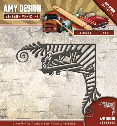Die - Amy Design - Vintage Vehicles - Aircraft Corner
