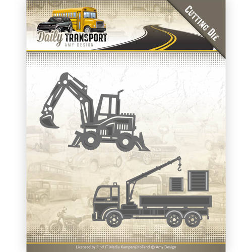 Dies - Amy Design - Daily Transport - Construction Vehicles