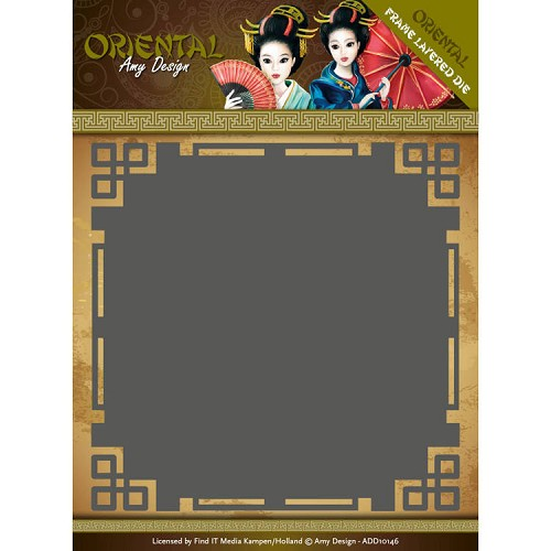 Dies - Amy Design Oriental - Frame Layered Dies