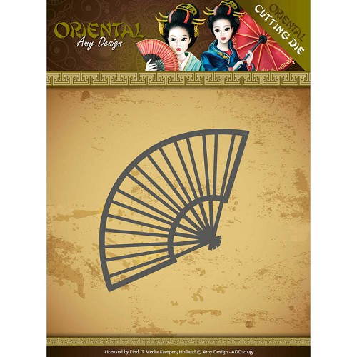 Dies - Amy Design Oriental - Chinese Fan