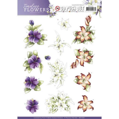 Push Out - Precious Marieke - Timeless Flowers - Lillies