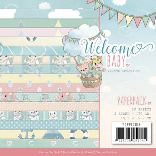 Paperpack - Yvonne Creations - Welcome Baby