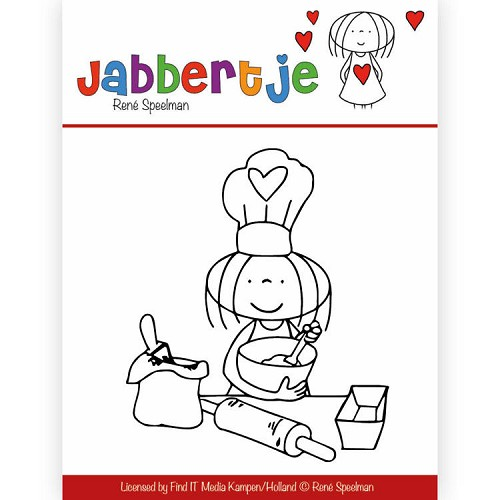 Clearstamp - René Speelman - Jabbertje - Baking