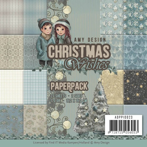 Paperpack - Amy Design - Christmas Wishes