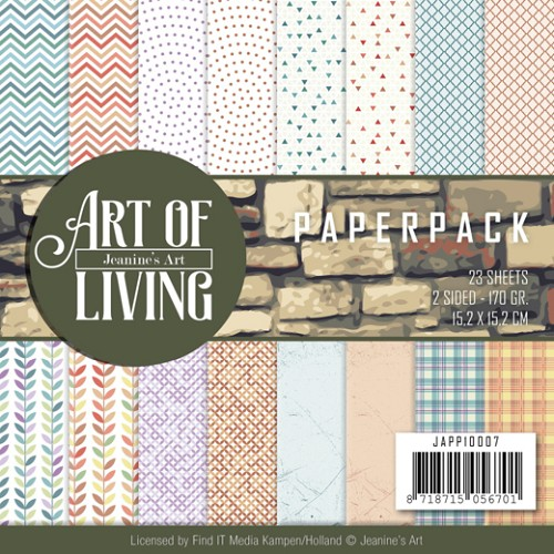 Paperpack - Jeanine`s Art - Art of Living -