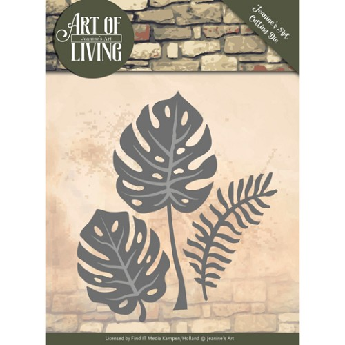 Dies - Jeanine`s Art - Art of Living - Leaves