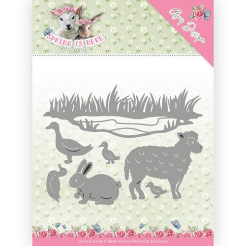 Dies - Amy Design - Spring is Here - Spring Animals