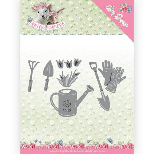 Dies - Amy Design - Spring is Here - Garden Tools
