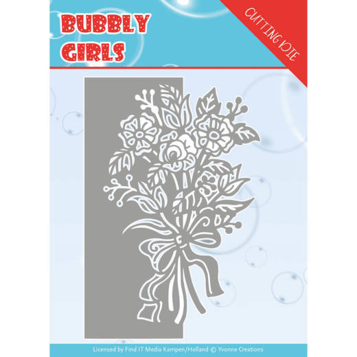 Dies - Yvonne Creations - Bubbly girls- Bouquet