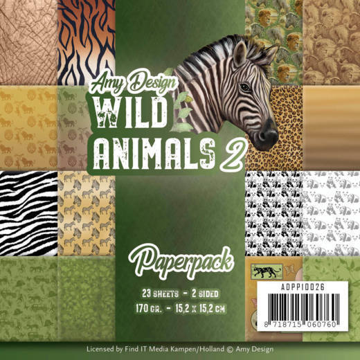 Paperpack - Amy Design - Wild Animals 2