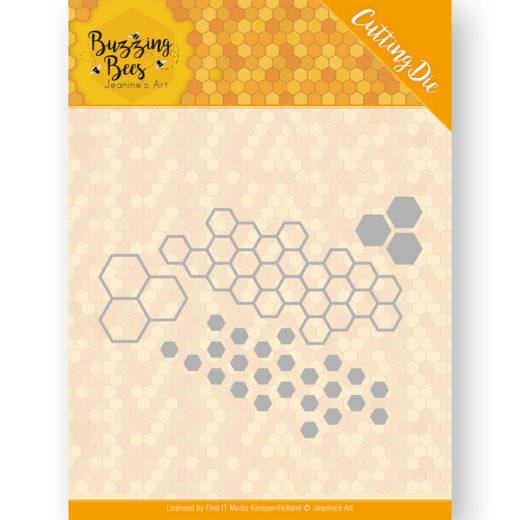 Dies - Jeanines Art - Buzzing Bees - Hexagon Set