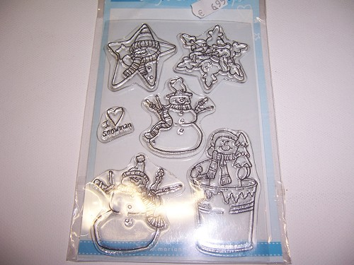 clear stamp