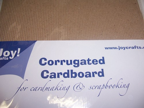 joy corrugated cardboard