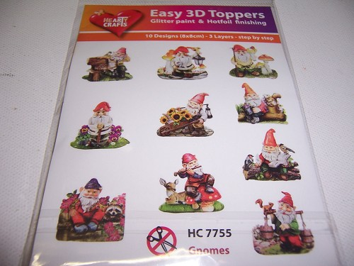 easy 3D toppers