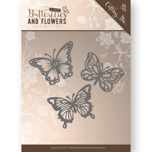 Die Jeanines Art Classic Butterflies And Flowers Butterflies